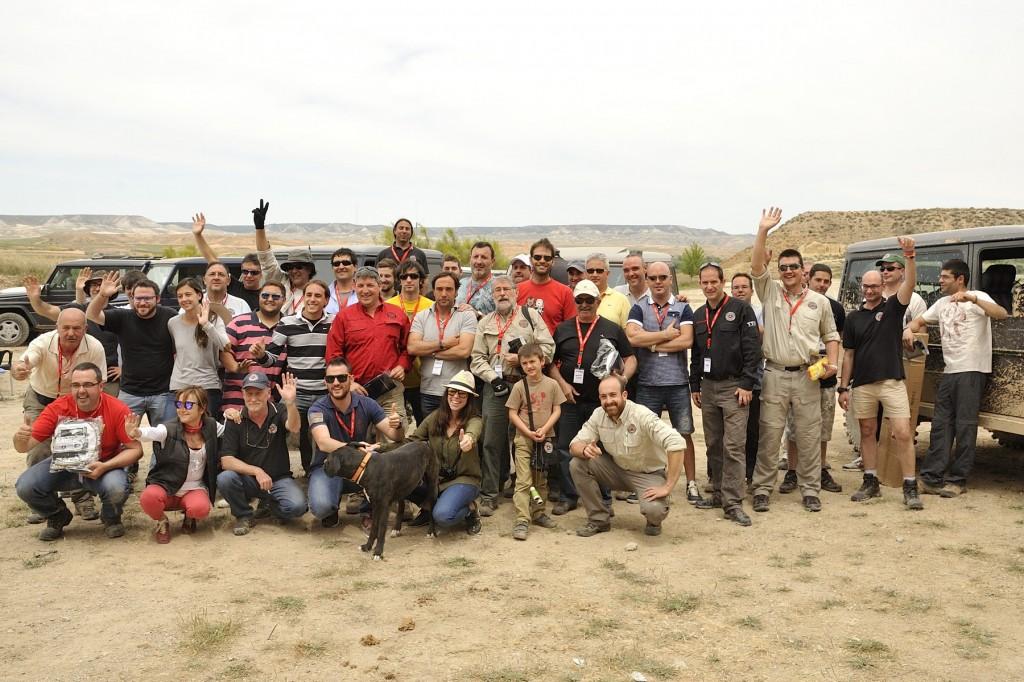 Concentración 2014 Monegros TT